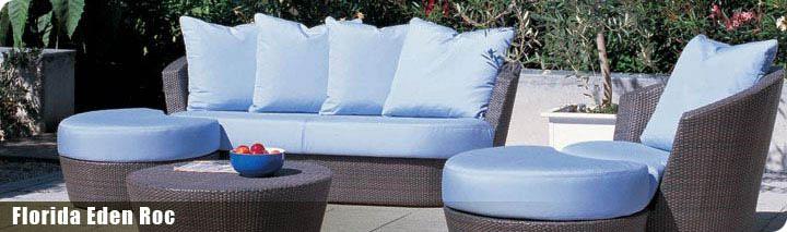 hochwertige kunststoffgeflechtmöbel und sonnenschirrme von villa, Garten Ideen